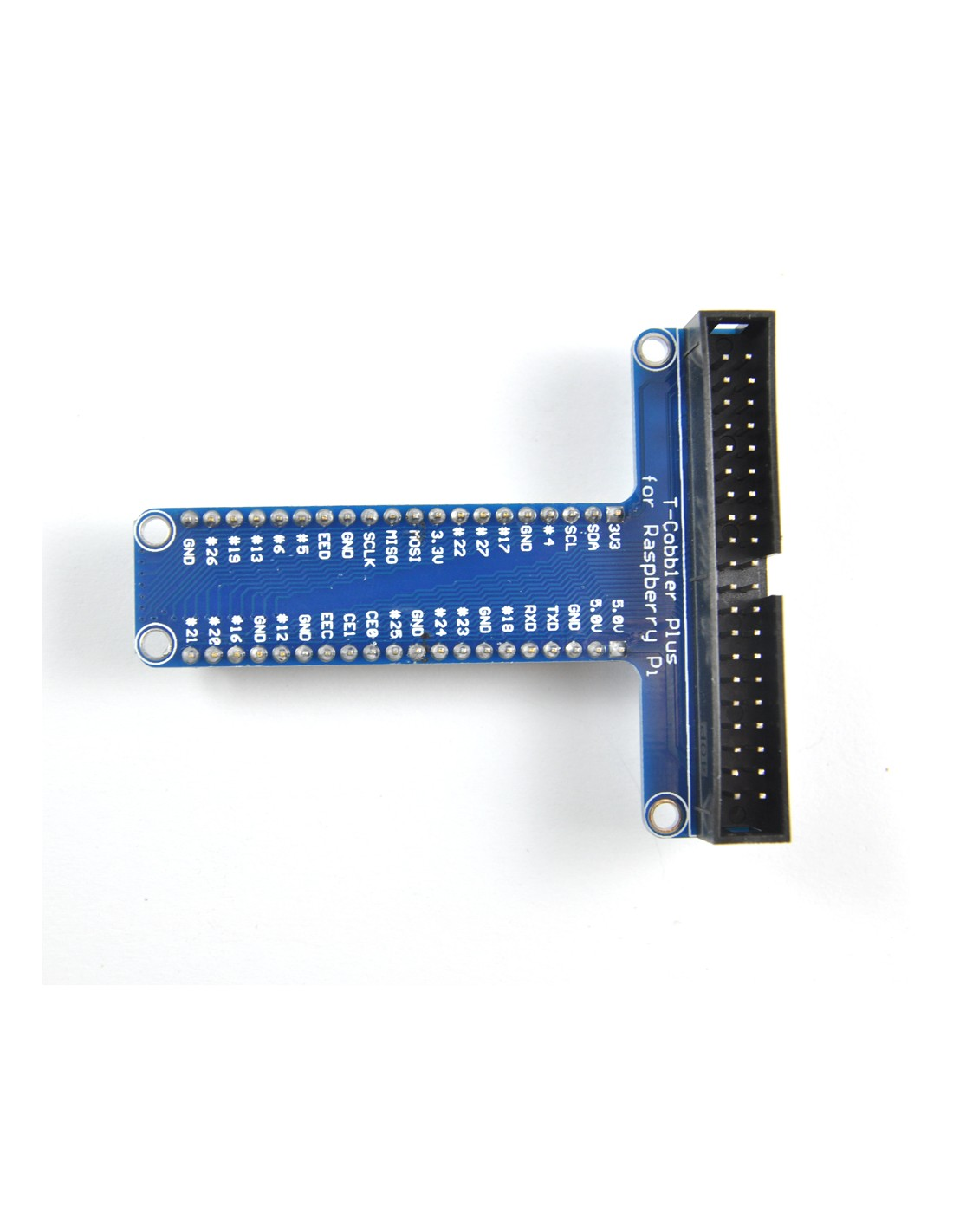 Breakout for Raspberry Pi A+/B+/2/3 to Breadboard (T-Cobbler Plus)