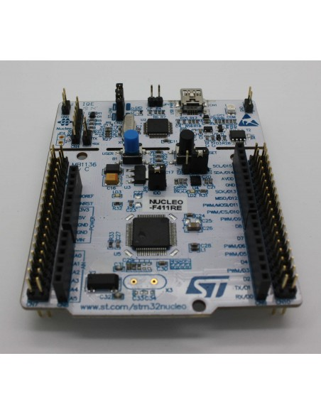 NUCLEO-F411RE (STM32 Nucleo development board for STM32 F4 series - with  STM32F411RE MCU (Arduino Compatible)