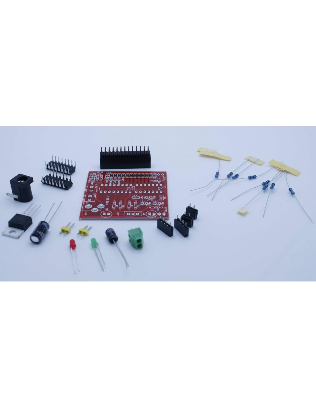Raspberry Pi Motor Shield Kit ( Robotique, L293D )