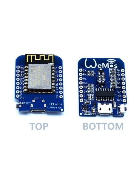 Wemos d mini esp arduino compatible layout wifi