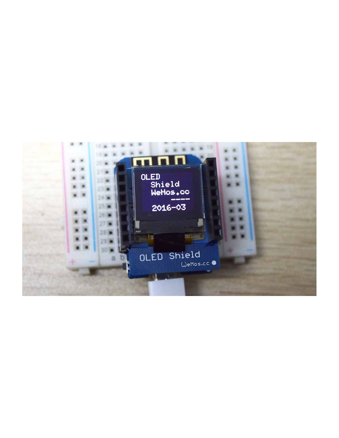 OLED Shield - (Wemos D1 Mini)