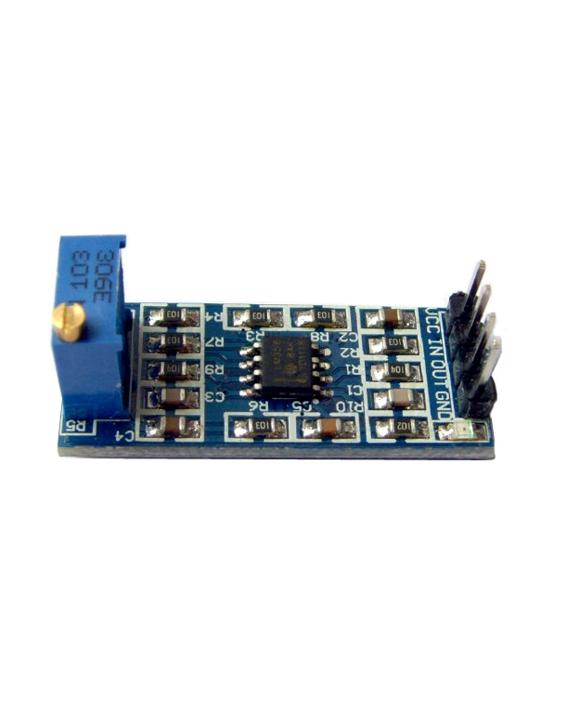 Lm358 Operational Amplifier Module Single Chip Audio Preamplifier Lm 358 Tap To Zoom