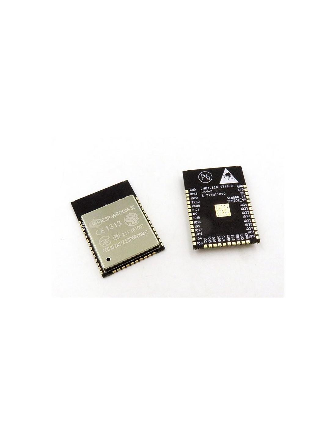 ESP-WROOM-32, ESP32 WIFI+BT+BLE Module