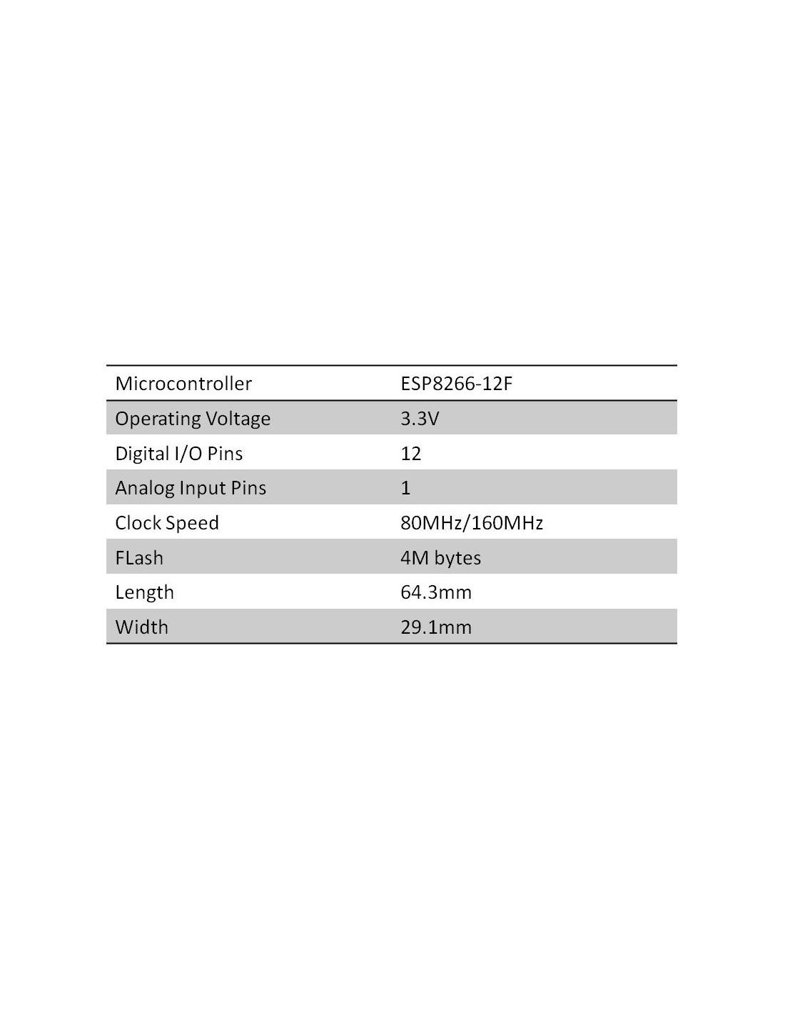 D-DUINO OLED 0 96 (ESP8266, WIFI, 32bit mcu)