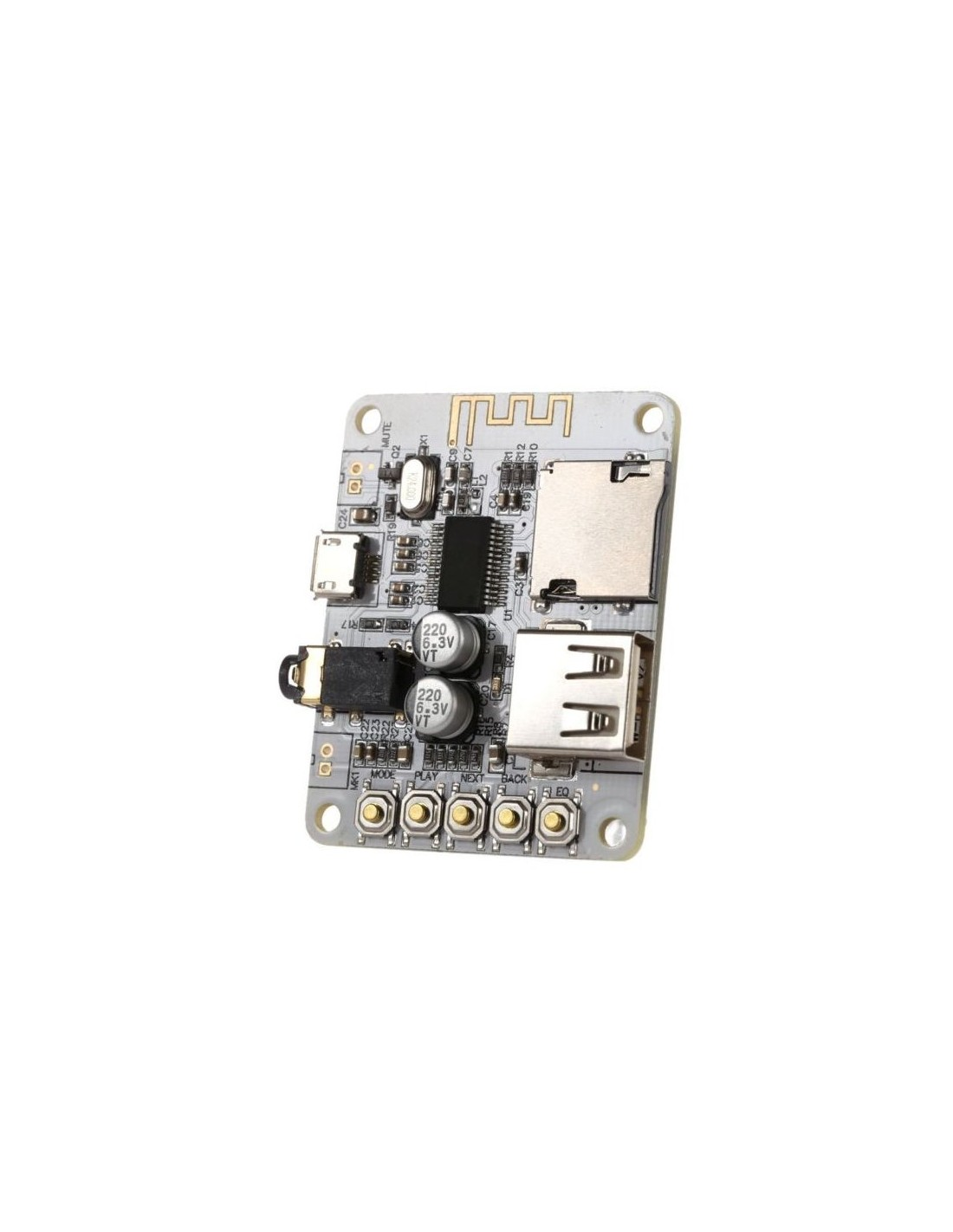Bluetooth Audio Receiver Wireless Usb Micro Sd Module Amplifier How To Use Wtv020sd Music With Arduino Build Circuit 41 Board