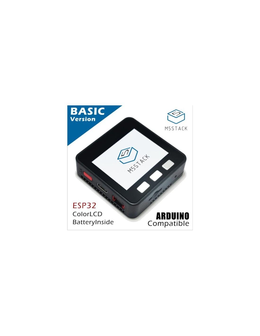 M5Stack Basic Kit (ESP32 dev module, Wifi, Bluetooth 4, LCD, Battery, etc )