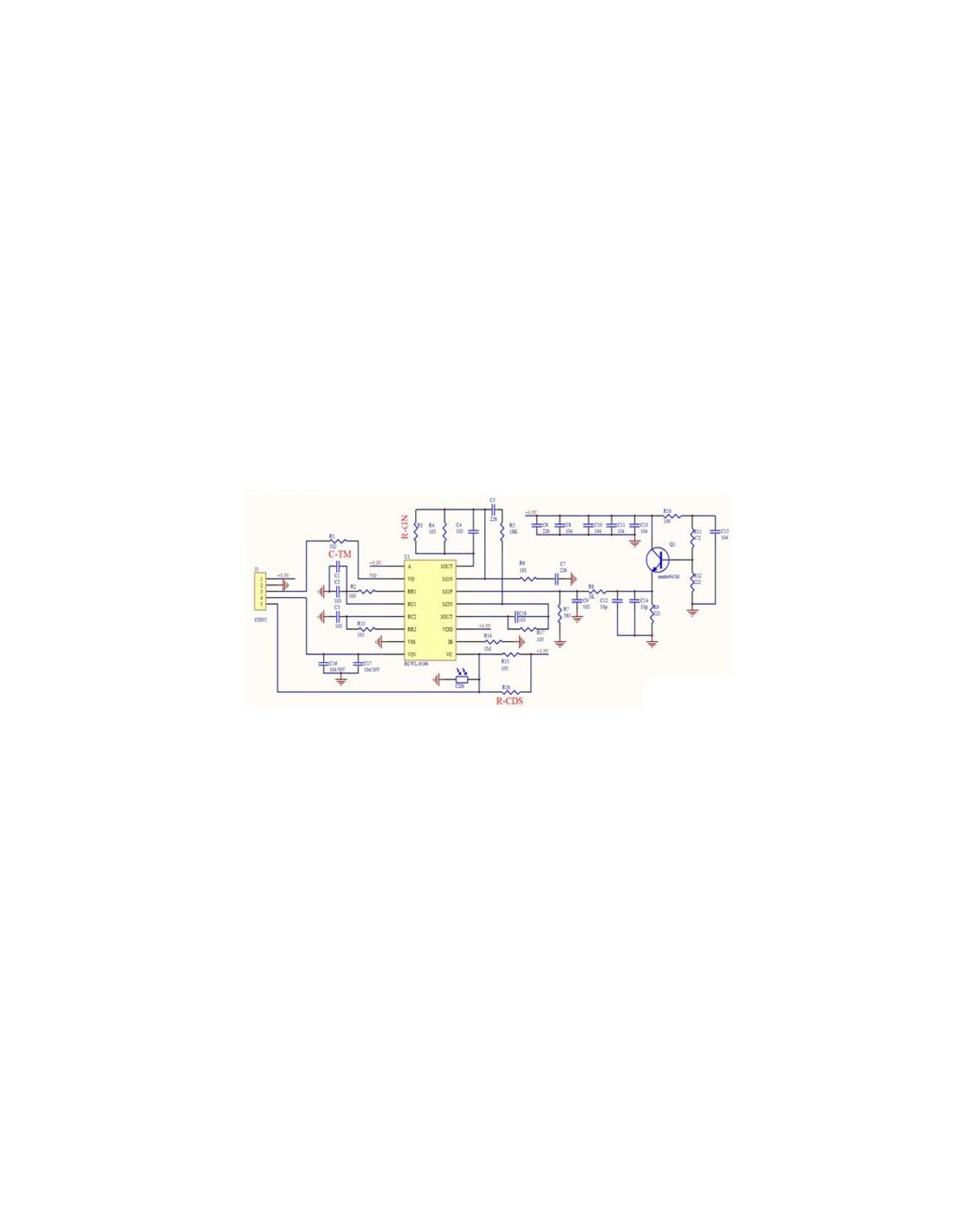 RCWL 0516 Microwave Motion Sensor Module Radar Sensor Body Induction
