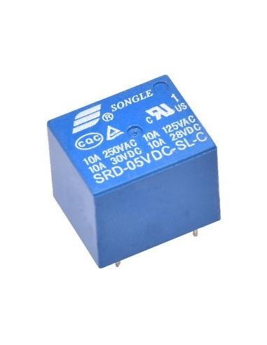 Relais 5V 10A 250VAC Songle SRD-05VDC-SL-C Mini Relay Module Arduino Raspberry