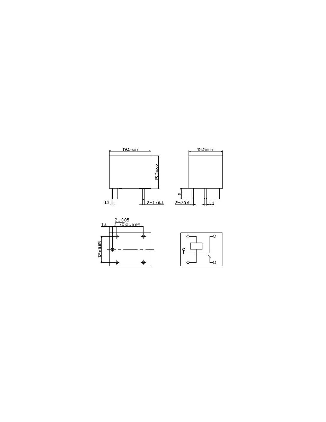 Relay 5v 10a 250vac Songle Srd 05vdc Sl C Mini Module Arduino Basics Raspberry