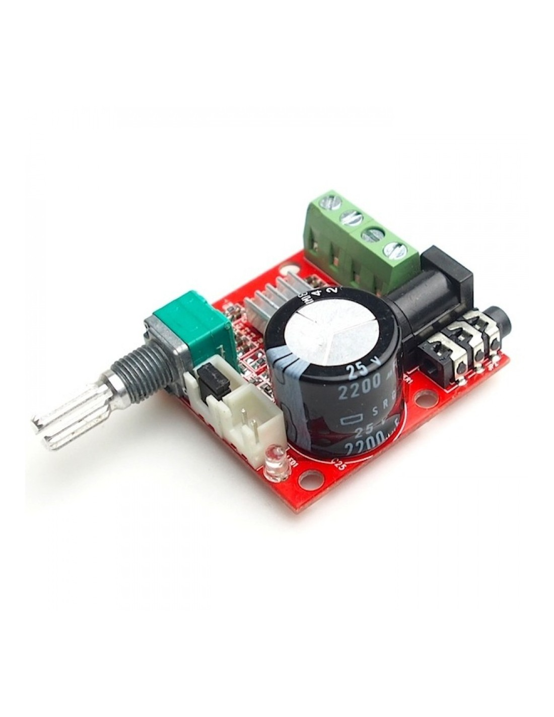 210w Dual Channel Hifi Mini Audio Amplifier Pam8610 Schematic Using Laser Diode And Lm386 Low Voltage Tap To Zoom