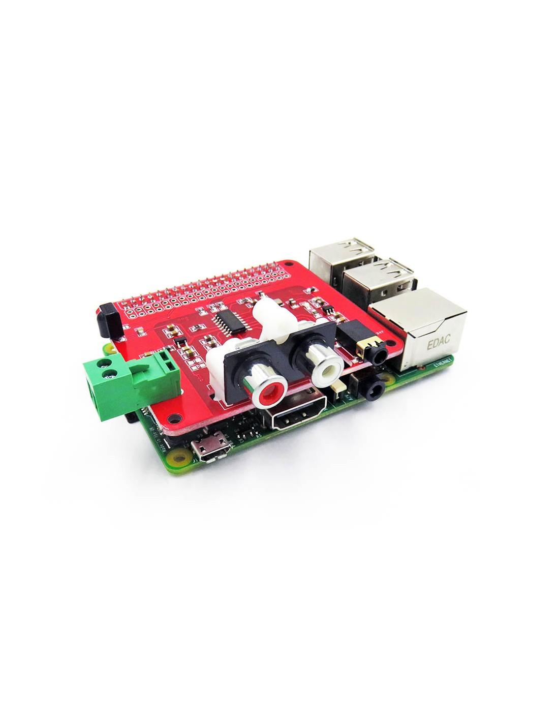 ES9023 I2S DAC HIFI Audio Board for Raspberry Pi