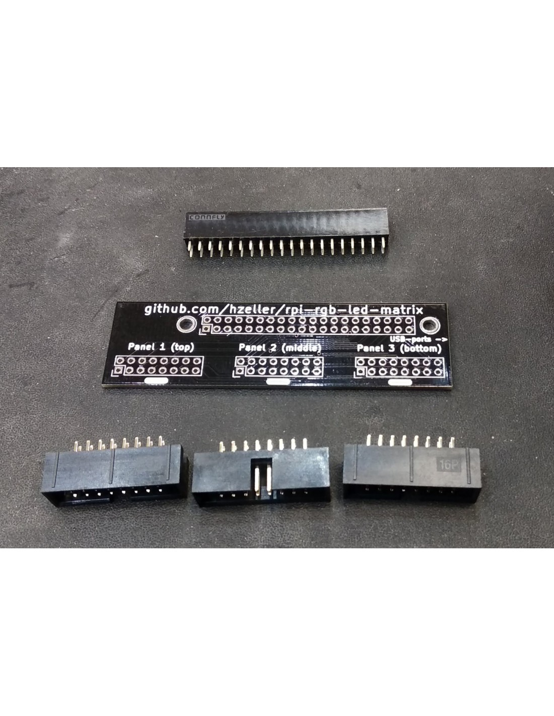 RGB LED Matrix Panel Drive Direct Board For Raspberry Pi