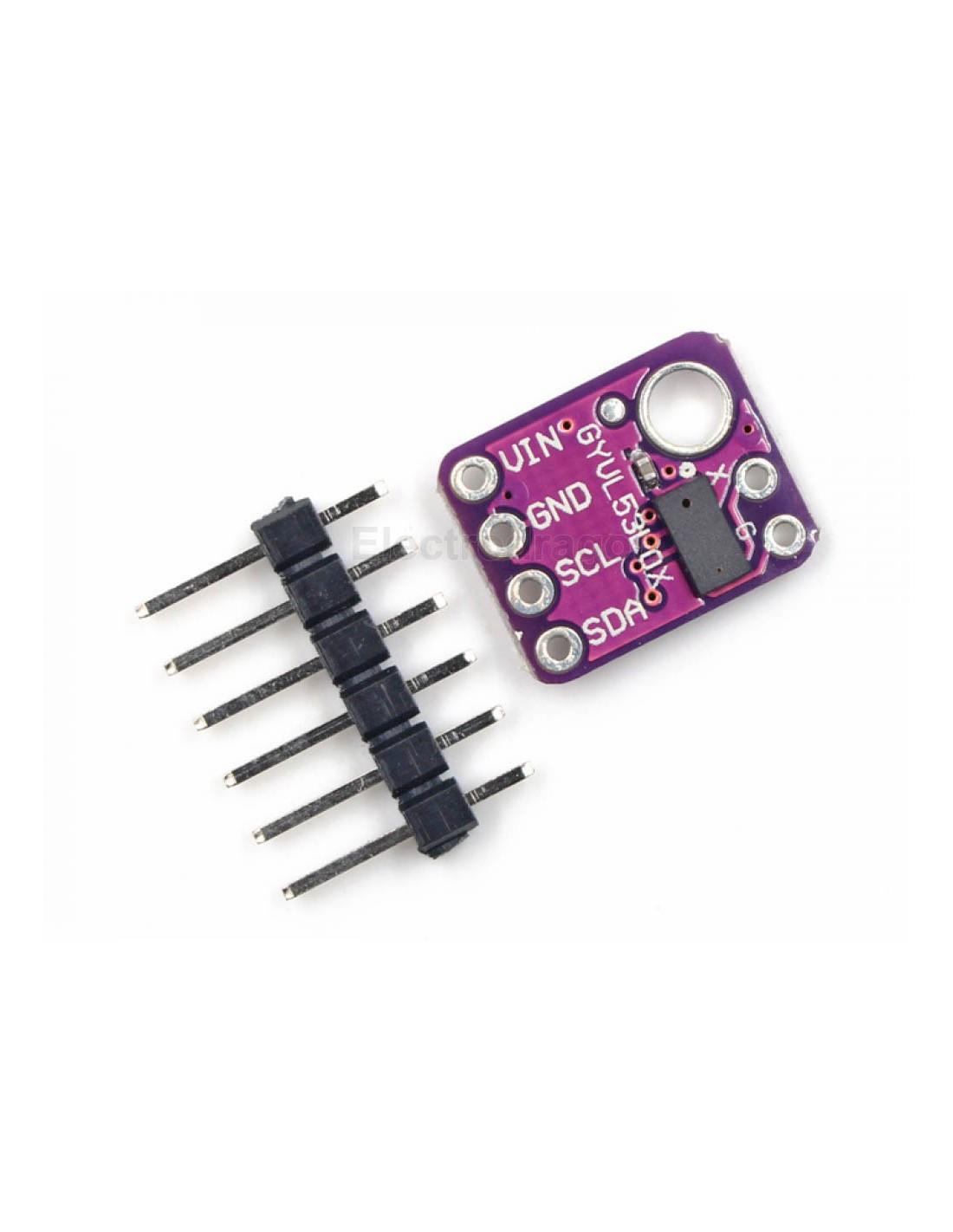 VL53L0X V2 laser ranging sensor I2C IIC